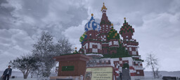 Saint Basil's Cathedral repro 1/1- Moscow Minecraft Map & Project