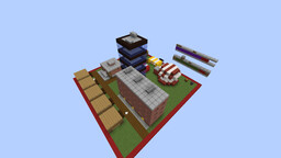 Chicken City, the Minecraft Structure Block City Building Game!!!! Minecraft Map & Project