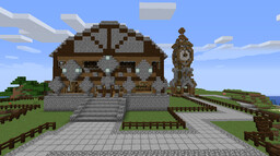 Towny build Minecraft Map & Project