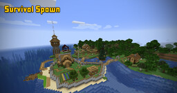 Survival Spawn Version 10.1 Minecraft Map & Project
