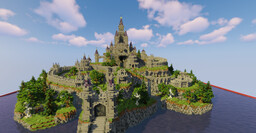 Hyrule castle (BOTW) Minecraft Map & Project