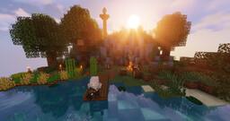 Peaceful entre amis - Minecraft scene Minecraft Map & Project