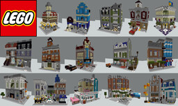 All LEGO Modular Buildings in Minecraft (updated 2020) Minecraft Map & Project