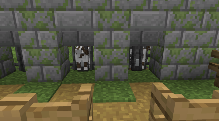 Goats will pathfind to the station when they have milk, which can be collected with a bucket