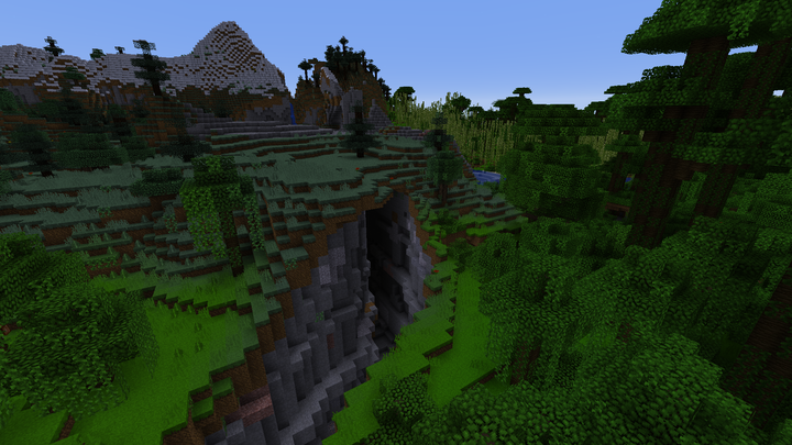 Some of the natural Vanilla Landscape you can fightplaygrief in...