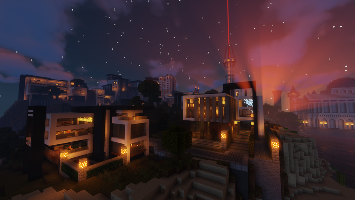 Night falls over Jolhaim