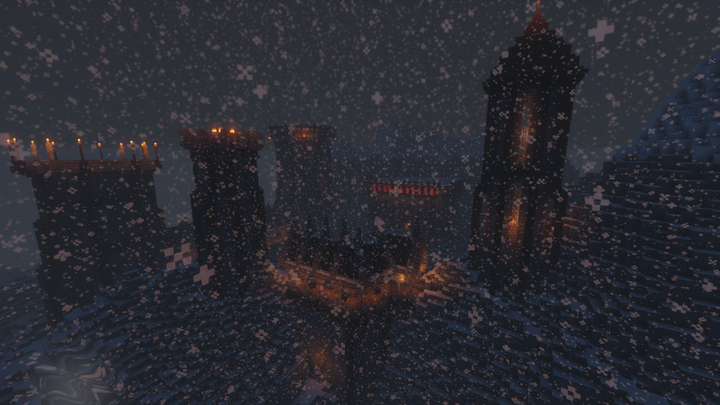 Dungeons fill the land, from the center of Jolhaim to the snowy peaks of distant mountains