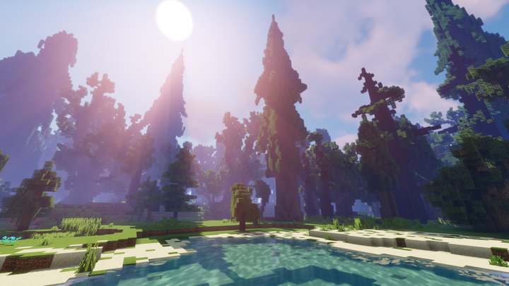 Explore a vast open world with fully custom terrain and environments