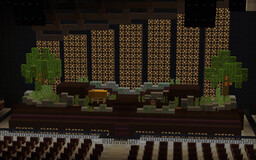 Lana Del Rey - LA To The Moon Tour Stage (Redstone Working!) Minecraft Map & Project