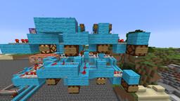 8-Bit Random Number Generator Minecraft Map & Project