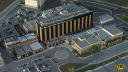 Charles-Le Moyne Hospital | TRS Minecraft Map & Project