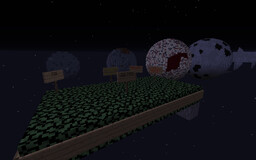 Solar Objects Up To Scale! Minecraft Map & Project