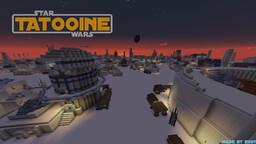 ~Star Wars - TATOOINE~ Minecraft Map & Project