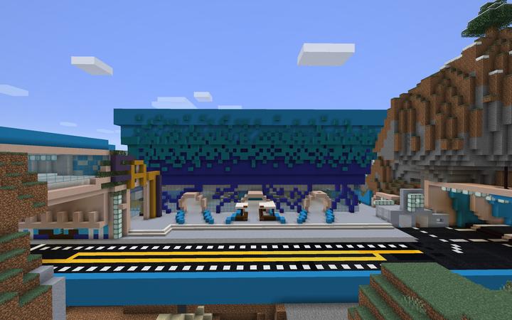 World Port Arena New Exterior!