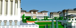 Presidential Complex (Turkey) Minecraft Map & Project