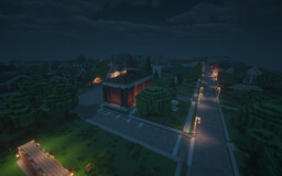 Derry, the town from IT, the horror movie Minecraft Map & Project