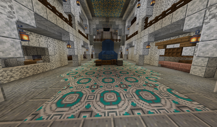Main Atrium as you enter the building from Town