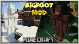 BIGFOOT MOD 1.12.2 (1.0) Minecraft Mod