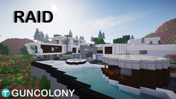 Raid (Black Ops 2) Minecraft Map & Project