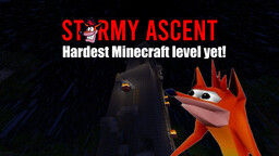 Stormy Ascent | Crash Bandicoot™ Minecraft Map & Project