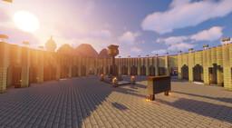 Aincrad floor 1 Minecraft Map & Project