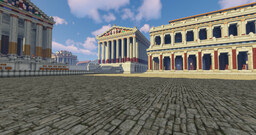 Forum Romanum AD 280 (under construction) - Conquest Reforged Minecraft Map & Project