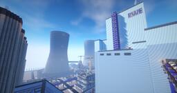Kohlekraftwerk Minecraft Map & Project