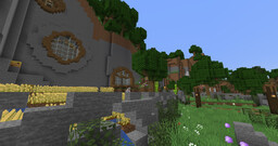 Survival Mountain House Minecraft Map & Project