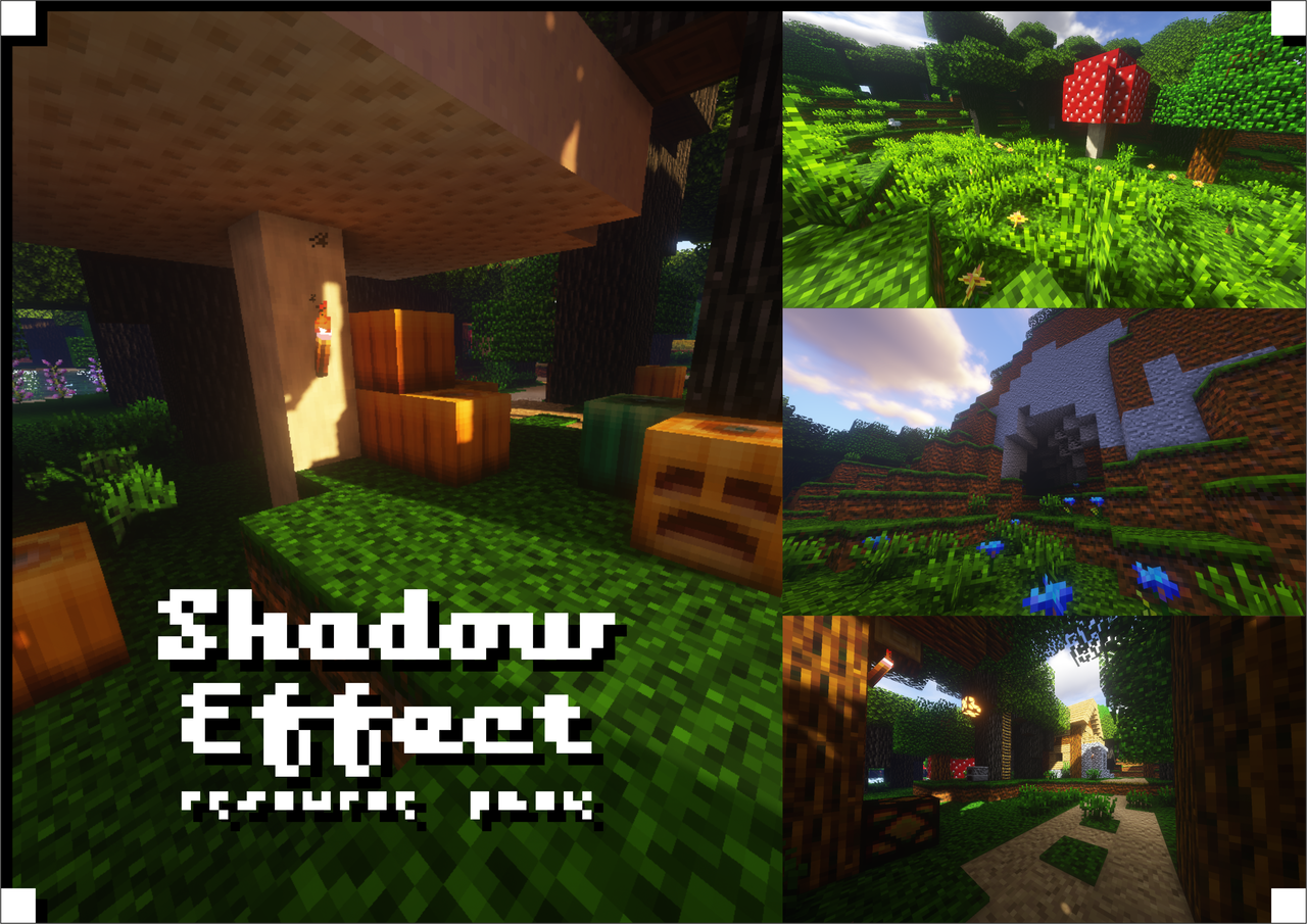 Shadow Effect Resource Pack Resource Packs Minecraft Curseforge