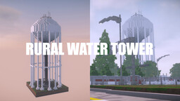 Realistic Rural Water Tower (1.14.3) Minecraft Map & Project