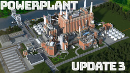Abandoned Factory Power Plant (Industrial Area) Minecraft Map & Project