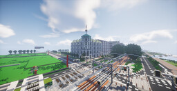 (1.16.1!!)Nystad Building Server - City building, community, plots, free build, W/E Minecraft Server