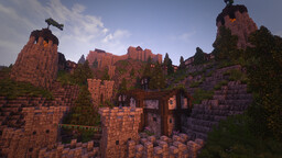 Seaside Castle [Conquest Reforged] Minecraft Map & Project