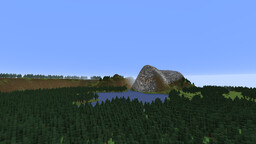 Mountainside Lake Minecraft Map & Project