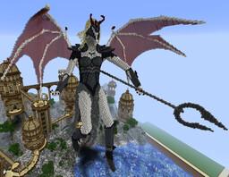 Demon Lady Minecraft Map & Project