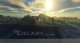 Taking on Tuscany Minecraft Map & Project