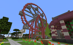 Amusement Park in Canyon City Minecraft Map & Project