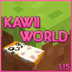 Kawaii World! Just Beds Minecraft Texture Pack