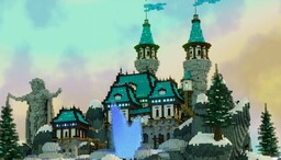 WinterGlow Hub Minecraft Map & Project