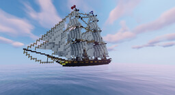 "Brig ""Gull"" Minecraft Map & Project"