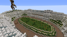Horse Race Track Minecraft Map & Project