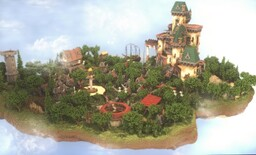 Castle Island Minecraft Map & Project