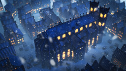 Winter Market Minecraft Map & Project