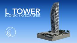 L Tower   Iconic Skyscraper Minecraft Map & Project