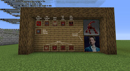 Iron Man Reborn Minecraft Texture Pack