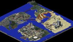 Minecraft GTA San Andreas (Minechan) | Майнкрафт ГТА Сан Андреас (Майнчан) Minecraft Map & Project