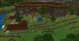 Spa (+village) showcase Minecraft Map & Project