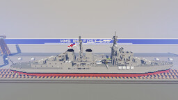 HMS Belfast C35 Minecraft Map & Project