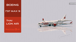 Boeing 737 MAX 9 Thai Lion Air [+Download] Minecraft Map & Project