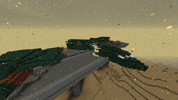 Wrecked plane Minecraft Map & Project